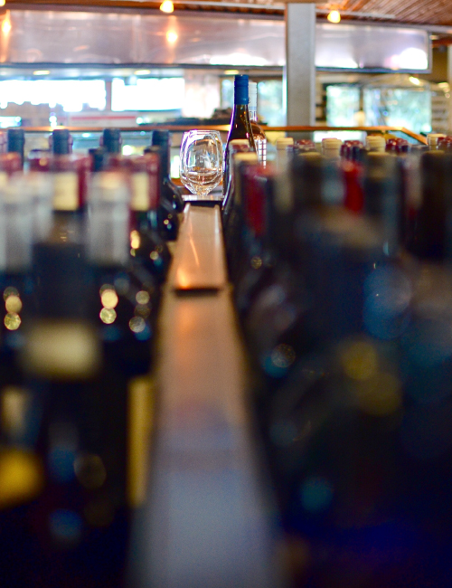 Boutique wines and hand selected craft beers