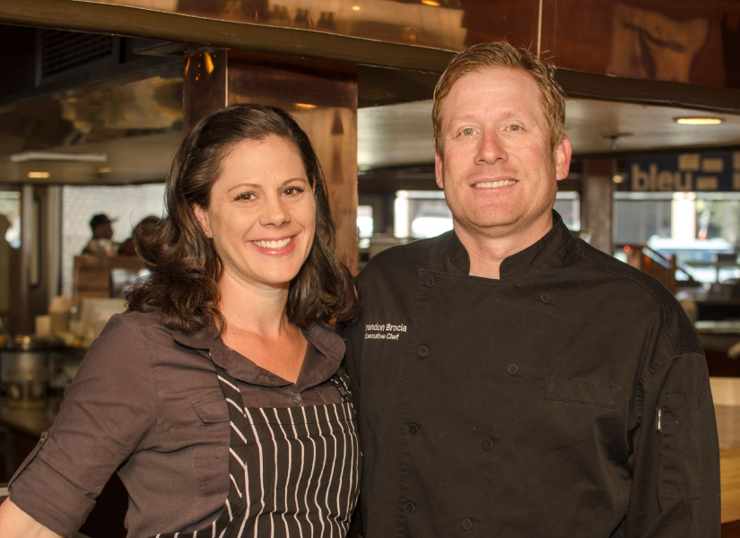 Owners of Bleu Market & Kitchen, Brandon and Theresa