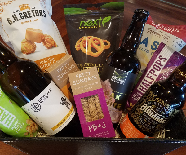 Bleu Market & Kitchen beer gift basket (sampler)