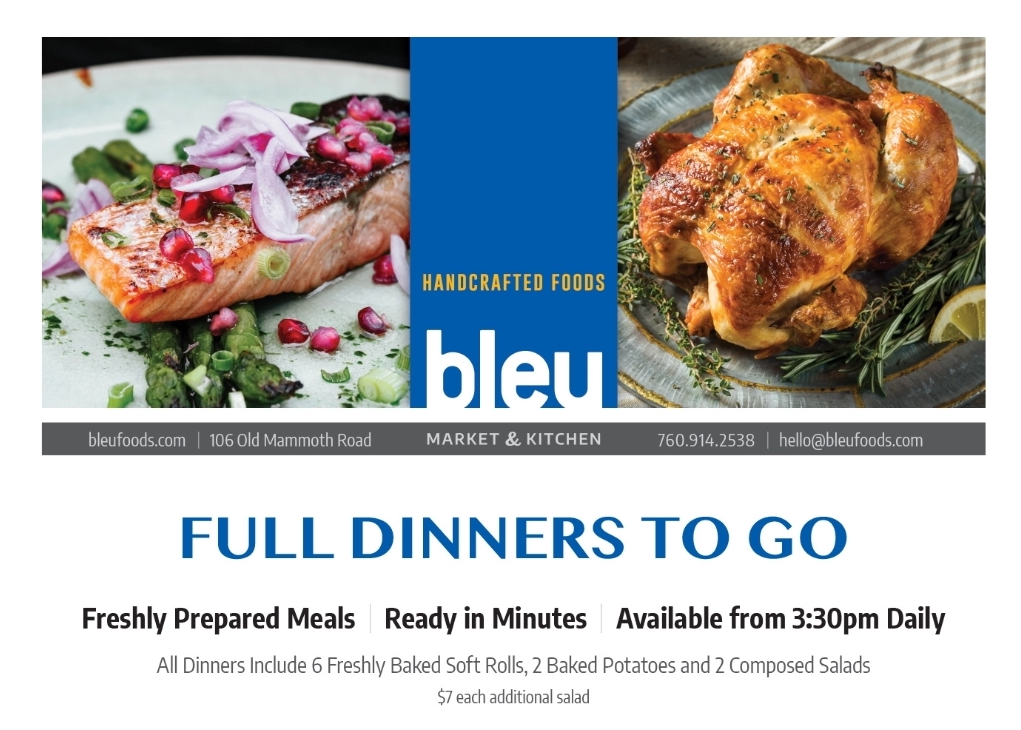 Bleu Market and Kitchen in Mammoth Lakes